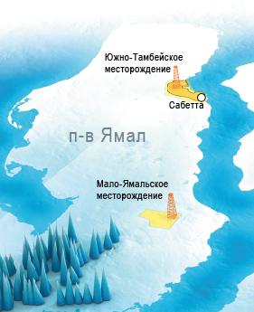 Южно Тамбейское Месторождение Карта